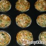 Spenótos, fetasajtos muffin 1