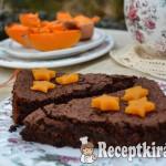 Sütőtökös gesztenyés csokitorta - paleo 1