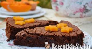 Sütőtökös gesztenyés csokitorta – paleo