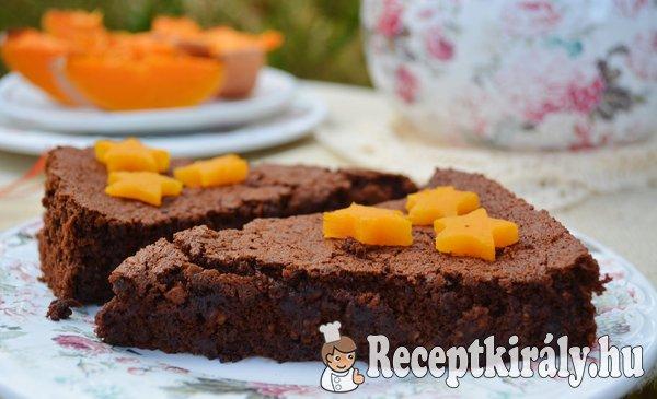 Sütőtökös gesztenyés csokitorta - paleo