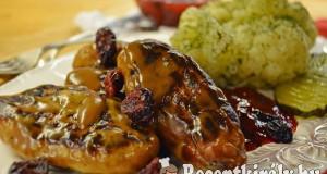 Svéd húsgolyó barna mártásban, kapros párolt karfiollal – paleo
