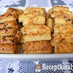 Szezámos sajtos rúd 1