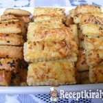 Szezámos sajtos rúd 2
