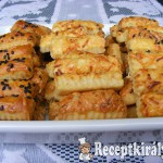 Szezámos sajtos rúd 4