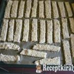 Zablisztes-túrós sajtos rúd 1