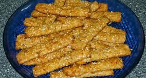Zablisztes-túrós sajtos rúd