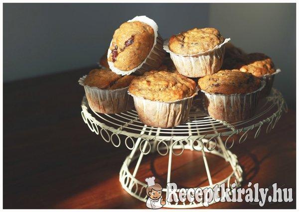 Banános-nutellás muffin
