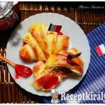 Croissant lekvárral töltve-1