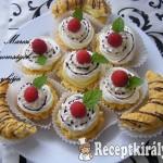 Gyümölcsös kosárkák