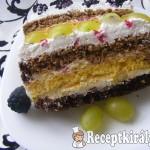 Gyümölcsös szelet Marcsi konyhájából-2
