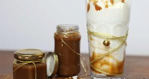 Karamellszósz és karamellás tej