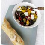 Olívabogyós-paradicsomos saláta-1