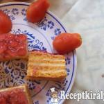Paradicsomos sütemény-2