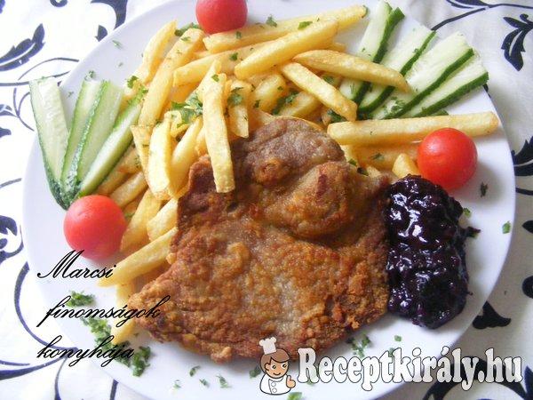 Sült hús áfonyadzsemmel