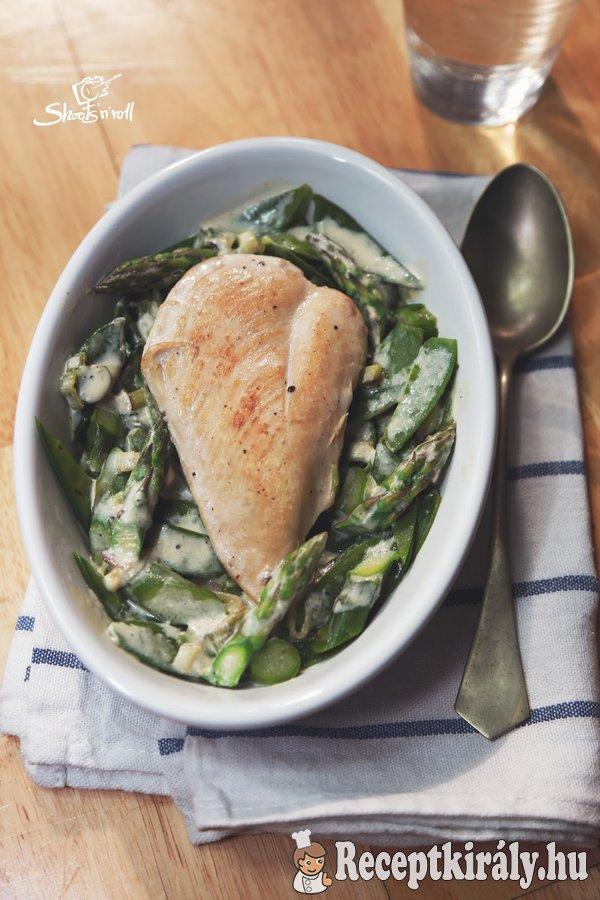 Tavaszi csirkemell Vera konyhájából