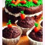 Tavaszi répatorta és muffin