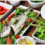 Tengeri keszeg friss saláta ágyon-1