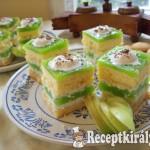 Zöldalmás sütemény-3