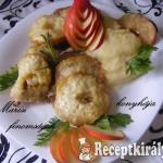 Almás sajtos szelet zelleres burgonyapürével 2