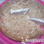 Diabetukus Túrós Alma torta