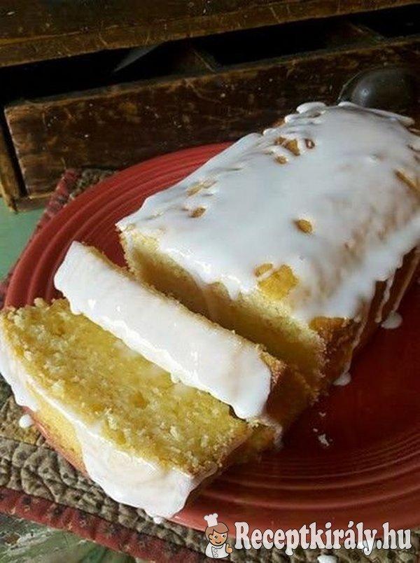 Egyszerű citromos süti