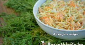 Káposztás sárgarépa saláta