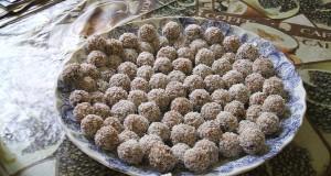 Kókuszos sütőtök golyó