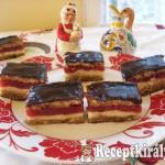 Mákos bonbon meggyes sütemény