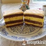 Narancs krémes sütemény 1