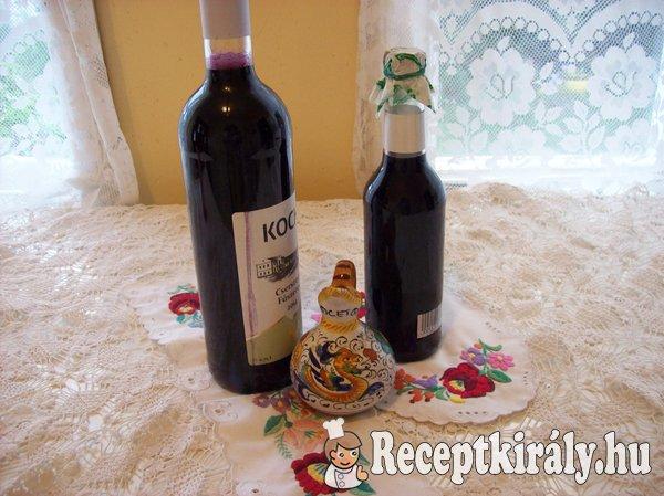 Otelló szőlő szörp