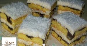 Tarka kókuszos sütemény