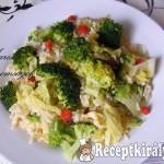 Barna rizs zöldségekkel 1