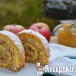 Gyors fahéjas almás tekercs - paleo 2