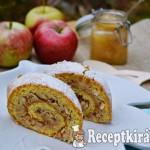 Gyors fahéjas almás tekercs - paleo 3