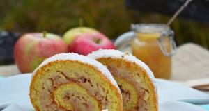 Gyors fahéjas almás tekercs – paleo
