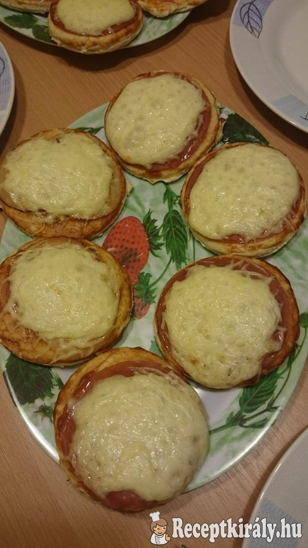 Mini pizzák