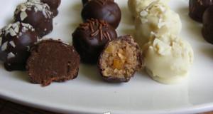 Narancsos-csokis bonbon vagy szaloncukor