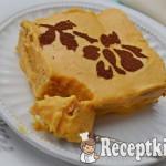 Narancsos sütőtök mousse babapiskótával - paleo