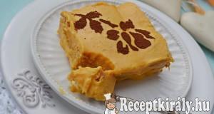 Narancsos sütőtök mousse babapiskótával – paleo