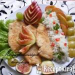 Sült csirkemell kertem gyümölcseivel 2