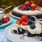 Toszkán csokitorta - paleo 1