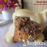 Aranygaluska vaníliasodóval Tündi konyhájából