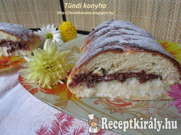 Bounty kalács Tündi konyhájából