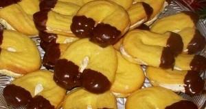 Marcipánkrémes vaníliás patkó