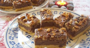 Mogyorós csokoládés sütemény