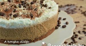 Mogyorós kávés torta