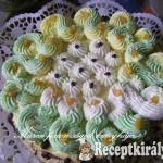 Négykrémes torta 1