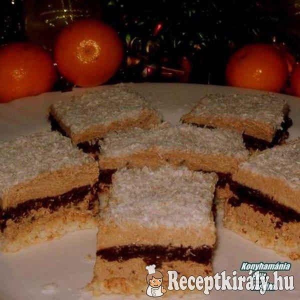 Raffaello szelet Erdélyi sütemény