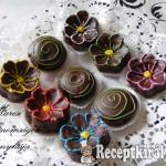 Csokis virágok 1