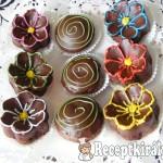Csokis virágok